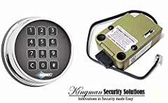 UL Listed Electonic Safe Lock Replaces most mechanical combination locks. Easy installation and operation. 15 minute Penalty Lockout after four incorrect entries protects against manipulation attempts. New patented dead-latched lock design with an in...