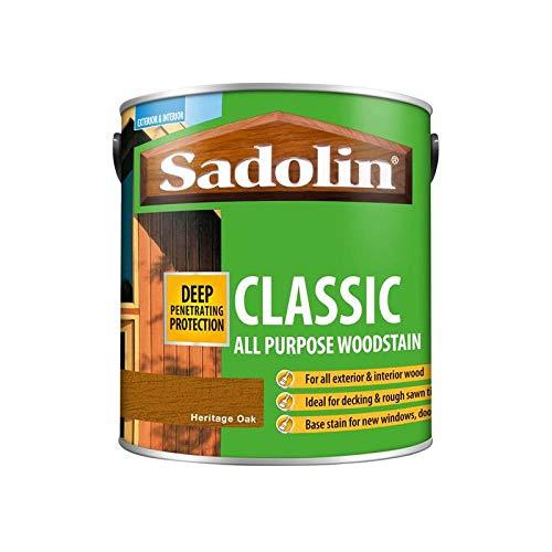 Sadolin Classic All Purpose Woodstain Heritage Oak  2.5 L