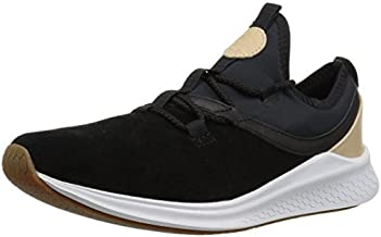 New Balance Men's Fresh Foam Lazr V1 Running Shoe, Black/White, 7.5 D US