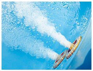 Whirlpool Badewanne Venedig MADE IN GERMANY rechts oder links 150 / 160 / 170 x 75 cm mit 6 Massage Düsen + MIT Armaturen Eckwanne Jakuzzi Spa runde rechte / linke Eckbadewanne innen günstig - 5