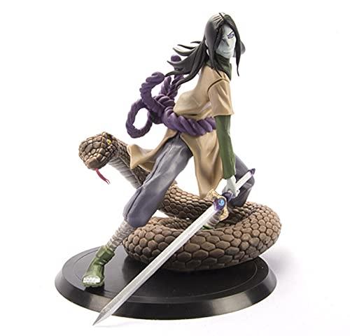 Figura De Serpiente Naruto Shippuden Orochimaru, Figura De Acción De PVC, Juguetes De Modelos...