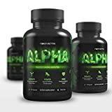 Neovicta Alpha Testosterone Booster for Men - Male Enhancing Pills - Enlargement Supplement - Increase Size, Strength, Stamina & Vitality - Fat Loss & Muscle Growth Test Boost - 30 Servings