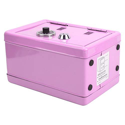 Hucha de metal, mini hucha, hermosa y generosa hecha de hierro, caja de efectivo duradera, regalos para niños para el hogar, niños(Pink)