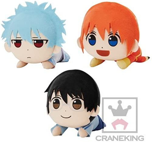 Gintama cheers for good work stuffed animals - everything Yagin chan - Set of 3