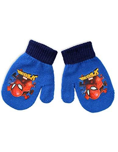 Baby-Fäustlinge für Jungen, Spider-Man, Blau und Marineblau, Einheitsgröße (6-24 Monate) Gr. Einheitsgröße, blau
