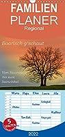 Boarisch g'schaut - Vom Haarsee bis zum Isarwinkel - Familienplaner hoch (Wandkalender 2022 , 21 cm x 45 cm, hoch): Den majestaetischen Bergen zu Fuessen (Monatskalender, 14 Seiten )