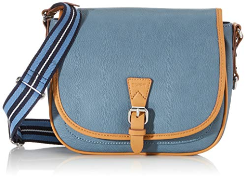 Esprit Accessoires Damen 020EA1O316 Esprit IT-Bag, Blau (Blau 440), 19.5x25.5x7