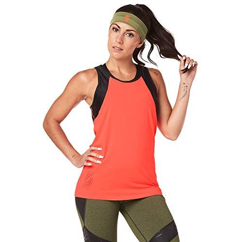STRONG by Zumba Aktiv Slim Fit Damen Oberteile Sportliche Workout Tank Top Damen