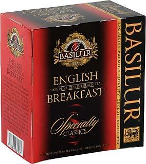 BASILUR Specialty EnglishBreakfast schwarzer Tee 50x2g