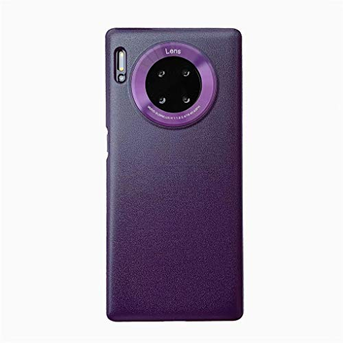 NiaCoCo Kompatibel mit Huawei Honor 20 Pro Hülle Telefonkasten PC-Silikon Harte Schale Stoßfest Ultra Dünn Kratzfest Schutz Telefon Schutzhülle+1PCS Displayschutzfolie - (Violett)