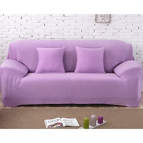 Dujie - Funda elástica para sofá (19, 3 plazas, 190 y 230 cm), color blanco