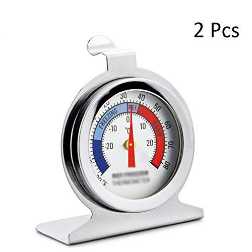 Thermomètre numérique multifonction en acier inoxydable haute précision pour réfrigérateur et congélateur a