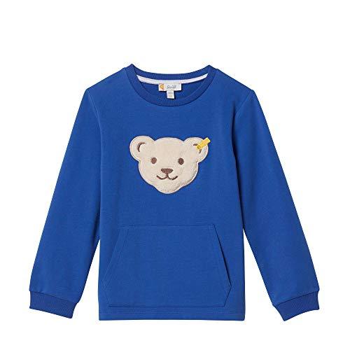 Steiff Steiff Baby-Jungen Sweatshirt, Blau (Surf In The Web 6002), 86