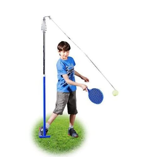 HUDORA Twistball-Spiel inkl. 2 Twistball-Schläger - Swingball - 76137