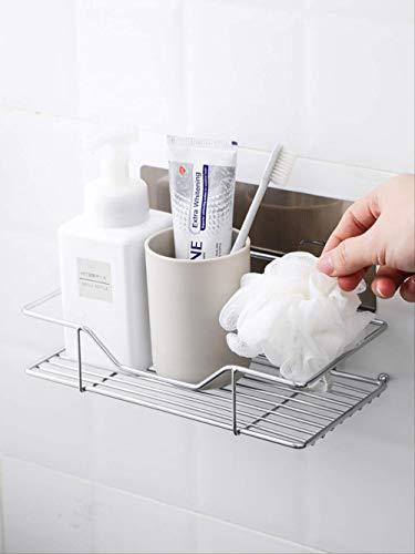 qwess Schmiedeeisen Badregal Free Punch Wc Shampoo Lagerregal Wand Waschtisch Finishing Rack Kleine...