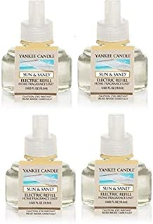 Yankee Candle Sun and Sand ScentPlug Refill 4-Pack