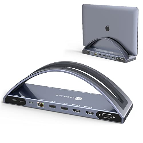 Laptop Docking Station Stand Dual Monitor for MacBook Pro/Air(NOT M1)...