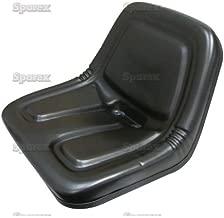 Universal Cub Cadet Vinyl Tractor Seat W/ Flat Bottom (Cub Cadet 1204, 1211, 1340, 1535, 1541, 1572, 1711, 1712, 1715, 1772)