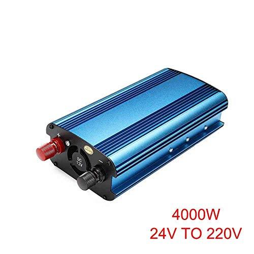Fishyu 3000W/4000W Auto Solar Inversor DC 12/24V Zu AC 220V Geändert Sinus Convertidor - 24v To 220v 4000w