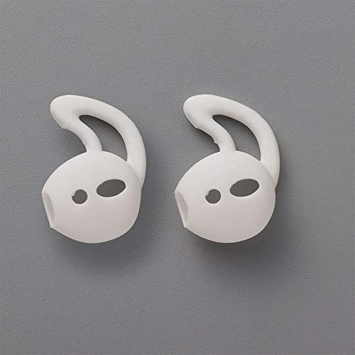 for i9S/i10/i11/i12/i13/i14/TWS Non-Slip Sport in-Ear Ear Hook Protective Case Earphone Covers Earbuds Cap(White)