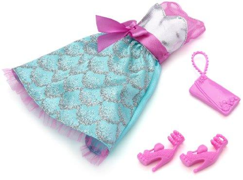 barbie vestiti da sera Barbie W3179 - Accessori Barbie