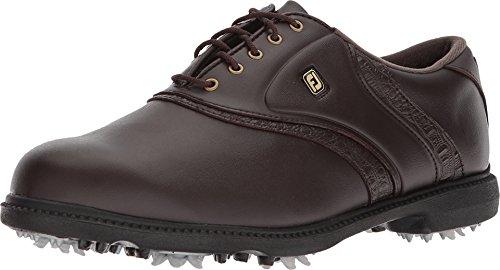 FootJoy Men's Originals Golf Shoes Brown 9 M Texture Print, US