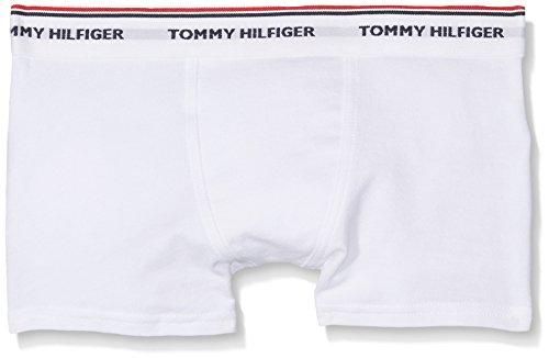 Tommy Hilfiger Jungen Trunks 2er Pack, Weiß (White / White 902), 152-164 (Herstellergröße:12-14)