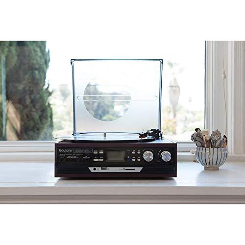 Modern opnemen antieke grammofoon, vinyl platenspeler, oude platenspeler U schijf tape Bluetooth multifunctioneel, kan 18/25 / 30cm stereo draaitafel opnemen