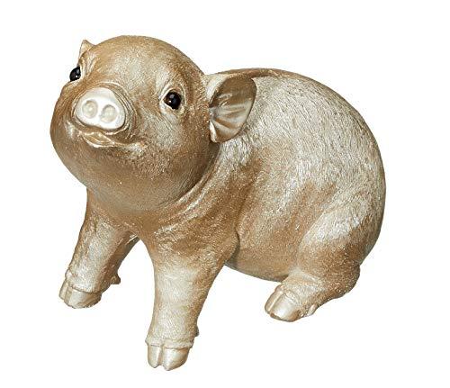MC Trend Sparschwein Spardose Ferkel Schwein Edel Hochwertig Geldgeschenk Idee Glücksschwein Sparbüchse