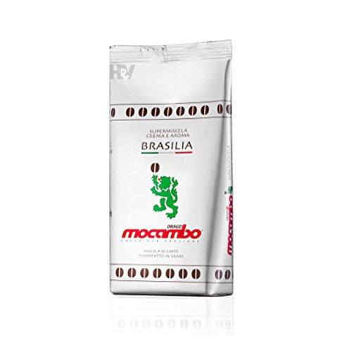 4x 1 kg mocambo Kaffee Espresso BRASILIA, Caffe Bohnen | hv-store