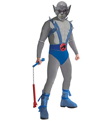 Rubie's Costumes Mens Deluxe Panthro Adult Costume – Standard Blue Grey