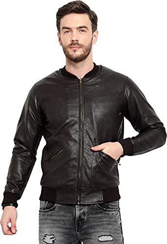 Brand Trend Men's Faux Leather Jacket