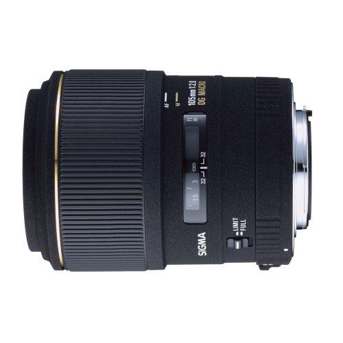 Sigma 105mm 2,8 EX DG Macro Obiettivo per Nikon D