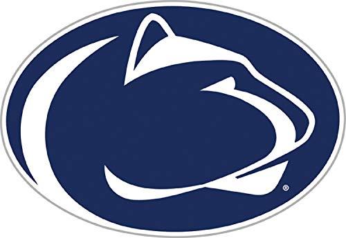 Fremont Die NCAA Penn State Nittany Lions Vinyl Team Logo Magnet, 12 , Team Colors