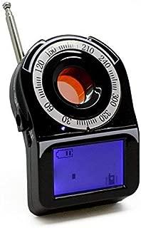 Spytec DD3150 Spy Hidden Camera Finder RF Bug Detector Wireless Signal Scanner with Backlit LCD Display Flashing LED Motion Vibration Sensor