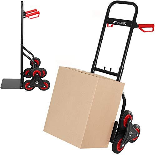 MT MALATEC Treppenkarre bis 200 kg klappbar Sackkarre Transportkarre Treppensteiger 9042