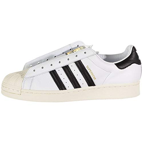 adidas Mens Superstar Laceless Slip On Sneakers Shoes Casual - White - Size 12.5 D