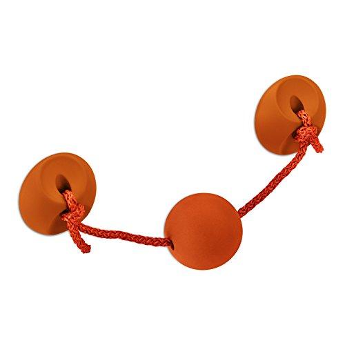 Kindermöbelgriff CHAMÄLEON BA 96 mm orange Schrankgriff Kindergriff Möbelgriff von SO-TECH®