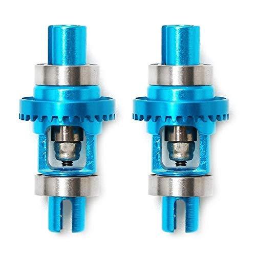 GzxLaY Nuevo 2 uds para K989-26 K969-29 diferencial de Bola de Metal Adecuado para Wltoys K989 K969 K979 K999 P929 P939 1/28 Piezas de Repuesto de Coche RC Accesorios de Repuesto ( Color : Blue )