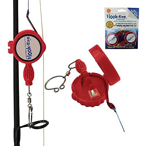 Hook-Eze Quick Fishing Knot Tying Tool Line Cutter...