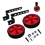 HUWAY Training Wheels for Children's Bicycle stabiliser (for 12 14 16 18 20 inch Bike) (red)