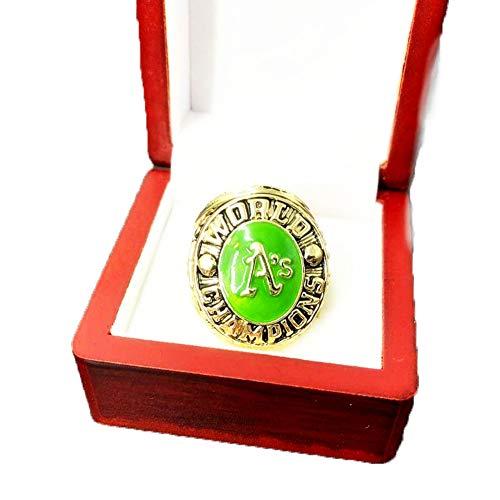 TYTY MLB 1974 Oakland Athletics Championship Ring Campeonato Anillo para los fanáticos de los Hombres de la colección Regalo de visualización campeón del Recuerdo de réplica,Without Box,11