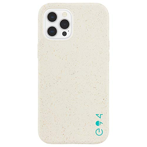 ECO94 by Case-Mate - Biodegradable - Case for iPhone 12 and iPhone 12 Pro (5G) - Eco-Friendly - 10 ft Drop Protection - 6.1 Inch - Natural