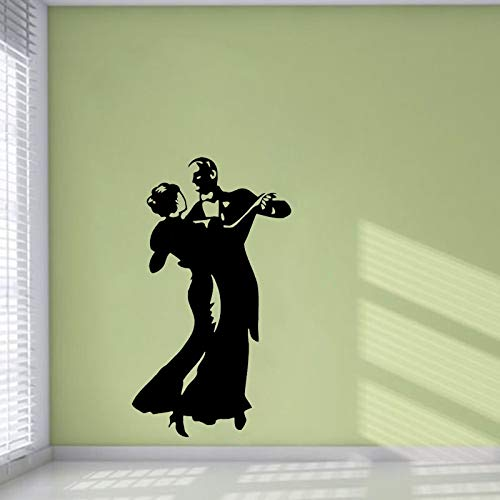 FPUYB 33CM*58CM Dance Gymnastics Wall Sticker Decor PVC Sitting Room The Bedroom