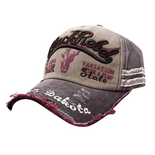 Gorra de Béisbol Personalizada de Hip-Hop Sombreros de Baile Callejeros Ocasionales Unisex,Gorra Trucker Hombre con Rejilla Transpirable Ajustable Casual
