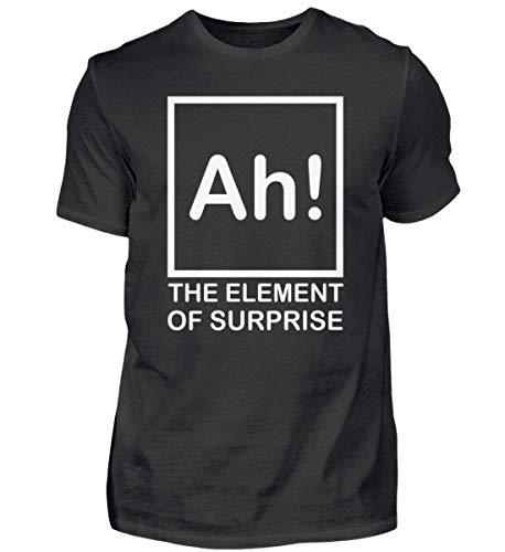 Fórmula química Ah – Camiseta para profesores químicos, escuela, ciencia, regalo, divertidos frases Negro  XXXL