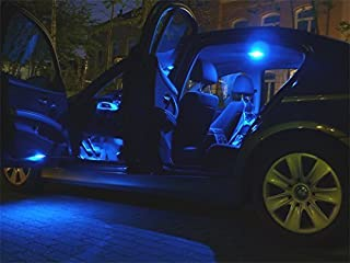 15x Innenraumbeleuchtung Set Lampen blau Auto Beleuchtung Leuchtmittel