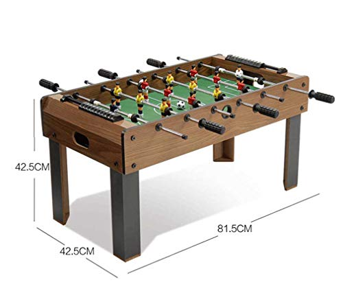 Affordable RUIXFFT Wooden Foosball Table Football Soccer Indoor Outdoor Soccer Game for Kids Teens a...