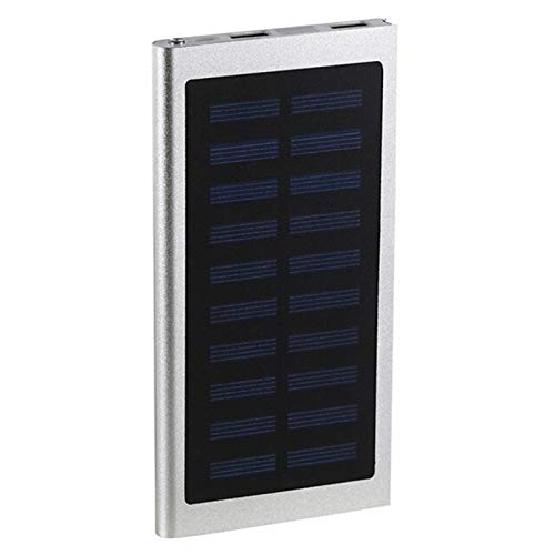30000mah solar Banco de alimentación, teléfono móvil externo cargador rápido, 2 USB Paquetes de baterías portátiles con pantalla LCD, compatible con teléfonos inteligentes, tabletas y otros dispositiv