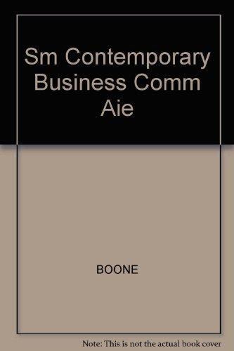 Sm Contemporary Business Comm Aie